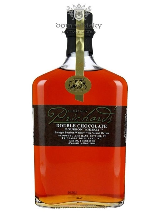 Prichard's Double Chocolate Tennessee Whiskey / 45% / 0,75l
