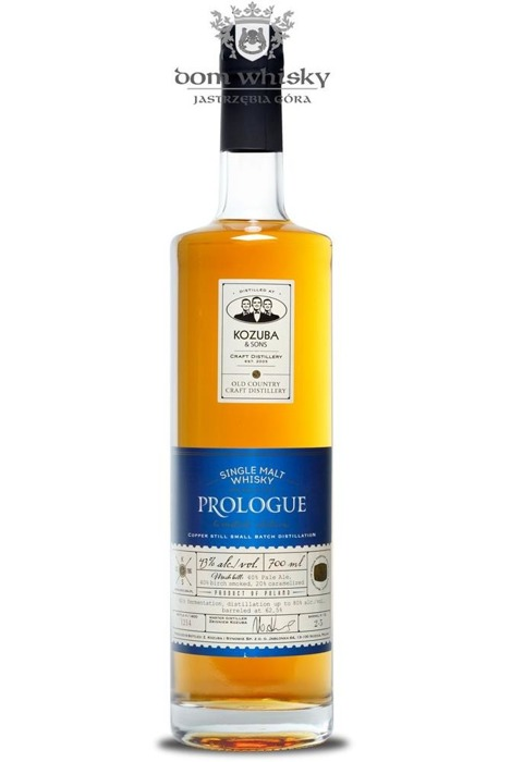 Prologue Single Malt, Kozuba & Sons / 43% / 0,7l