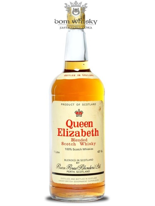 Queen Elizabeth Blended Scotch Whisky / 43% / 1,0l