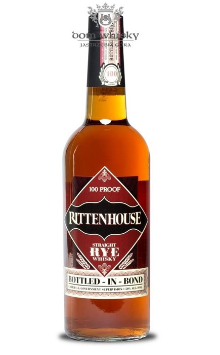 Rittenhouse Straight Rye 100 Proof / 50% / 0,7l