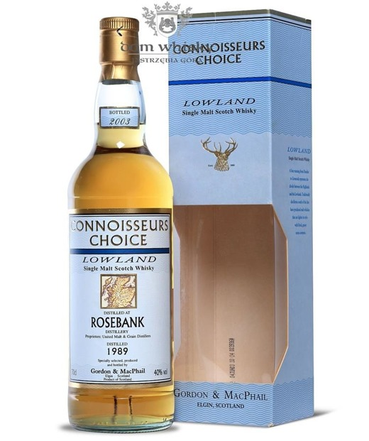 Rosebank 1989 (Bottled 2003) Connoisseurs Choice / 40% / 0,7l