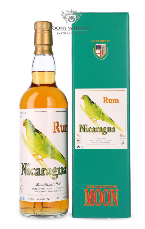 Rum Nicaragua Moon Collection, (D.1999 B.2015) / 45% / 0,7l