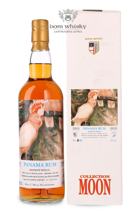 Rum Panama Moon Collection, (D.2004 B.2016) / 45% / 0,7l