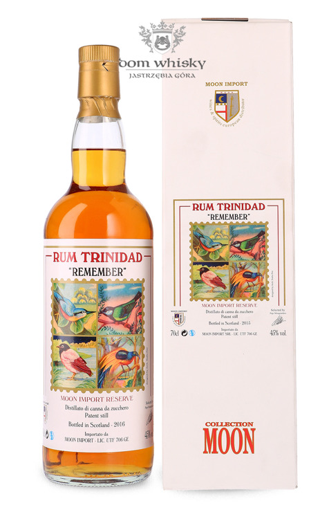 Rum Trinidad Remember Moon Collection, (B.2016) / 45% / 0,7l