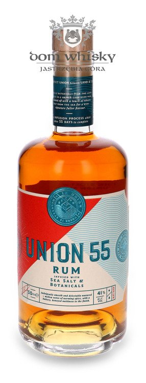 Rum Union 55 Sea Salted & Botanicals / 41% / 0,5l