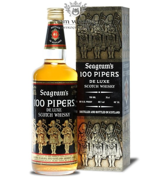 Seagram's 100 Pipers / 40% / 0,75l