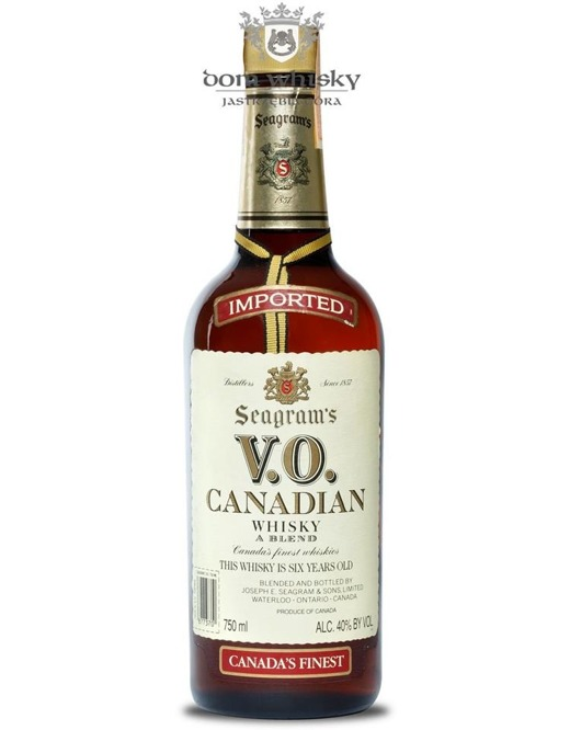 Seagram's VO Canadian 1984 / 40% / 0,75l