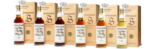 Springbank Millennium Collection 25-30-35-40-45-50-letni / 4,2l