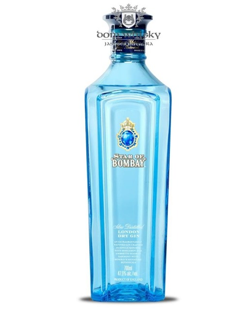 Star Of Bombay Dry Gin / 47,5% / 0,7l