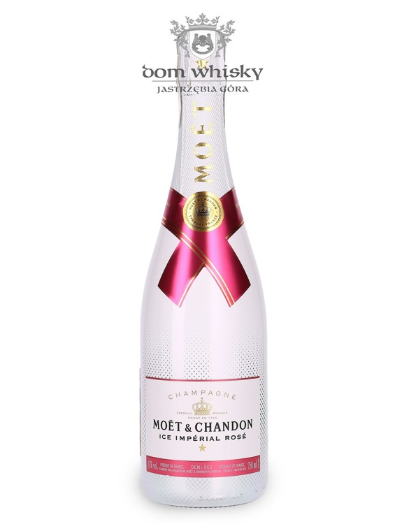 Szampan Moet & Chandon ICE Imperial Rose / 12% / 0,75l