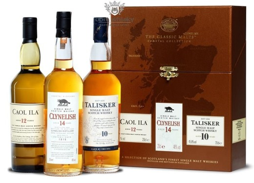 The Classic Malts Collection Coastal / 3 x 0,2l