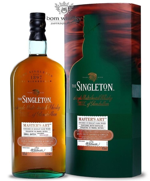 The Singleton of Glendullan Master's Art, Small Batch /40%/1,0l
