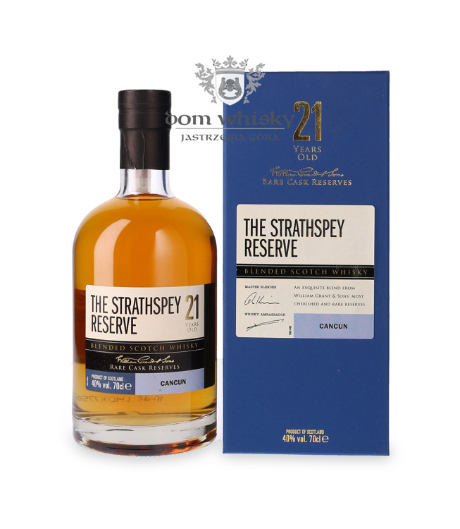 The Strathspey Reserve 21-letni Cancun / 40% / 0,7l