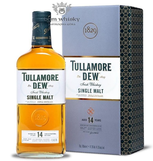 Tullamore Dew 14-letni Four Cask Finish / 41,3% / 0,7l