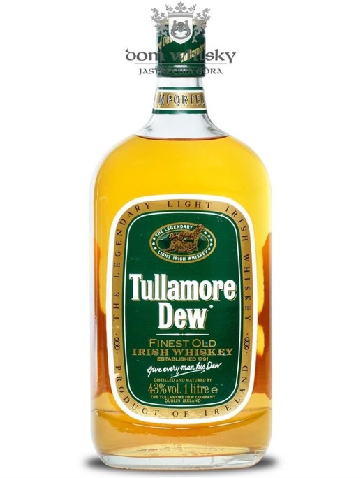 Tullamore Dew Finest Old Irish Whisky / 43% / 1,0l