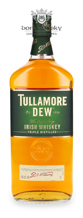 Tullamore Dew Irish Whiskey / 40% / 1,0l