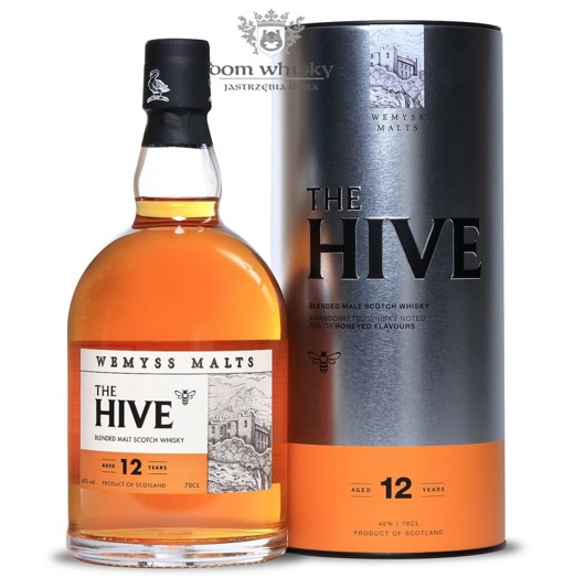 Wemyss The Hive 12-letni Blended Malt / 40%/ 0,7l