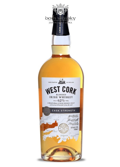 West Cork Blended Irish Whiskey Cask Strength / 62% / 0,7l