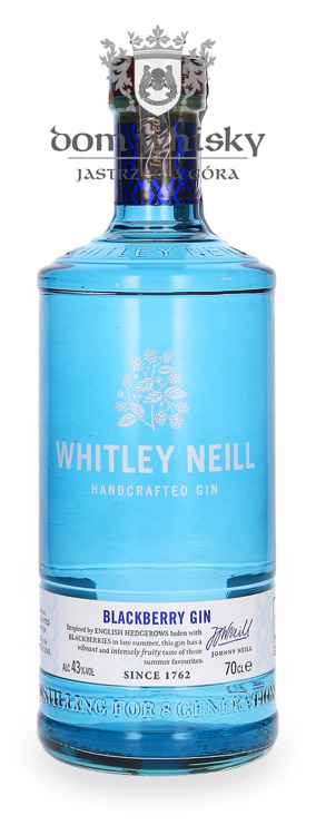 Whitley Neill Handcrafted Blackberry Gin / 43% / 0,7l
