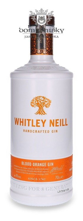 Whitley Neill Handcrafted Blood Orange  Gin / 43% / 0,7l