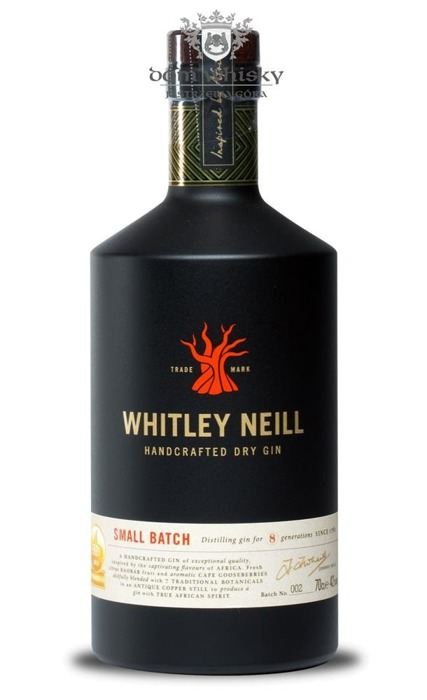 Whitley Neill Handcrafted Dry Gin #006 (UK) / 42% / 0,7l
