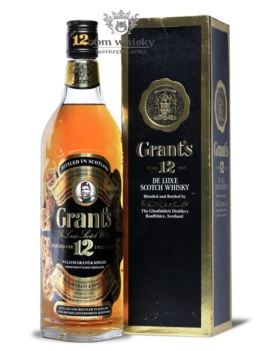 William Grant's 12-letni De Luxe, (Label No. 9618) / 40% / 0,7l