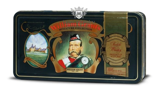 William Grant's Miniatur Gift Set (Royal) / 6 x 0,05l