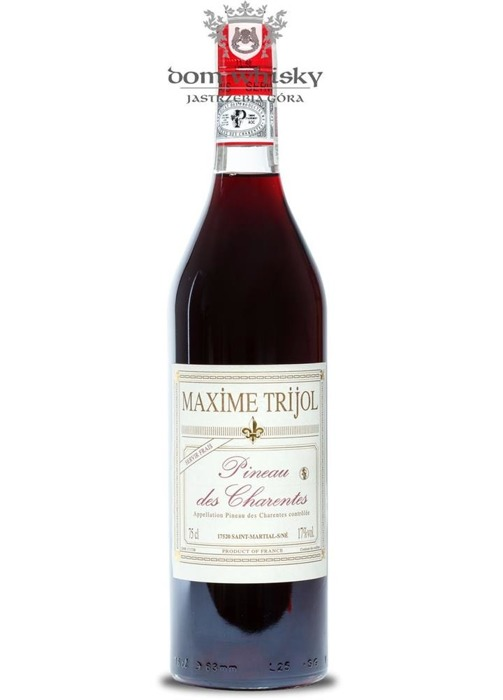 Wino Maxime Trijol Pineau des Charentes Rose / 17% / 0,75l