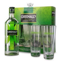 Greenall's The Original London Dry Gin (2 szklanki) / 40% / 0,7l