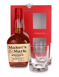 Maker's Mark (dwie szklanki gratis) /45% /0,7l