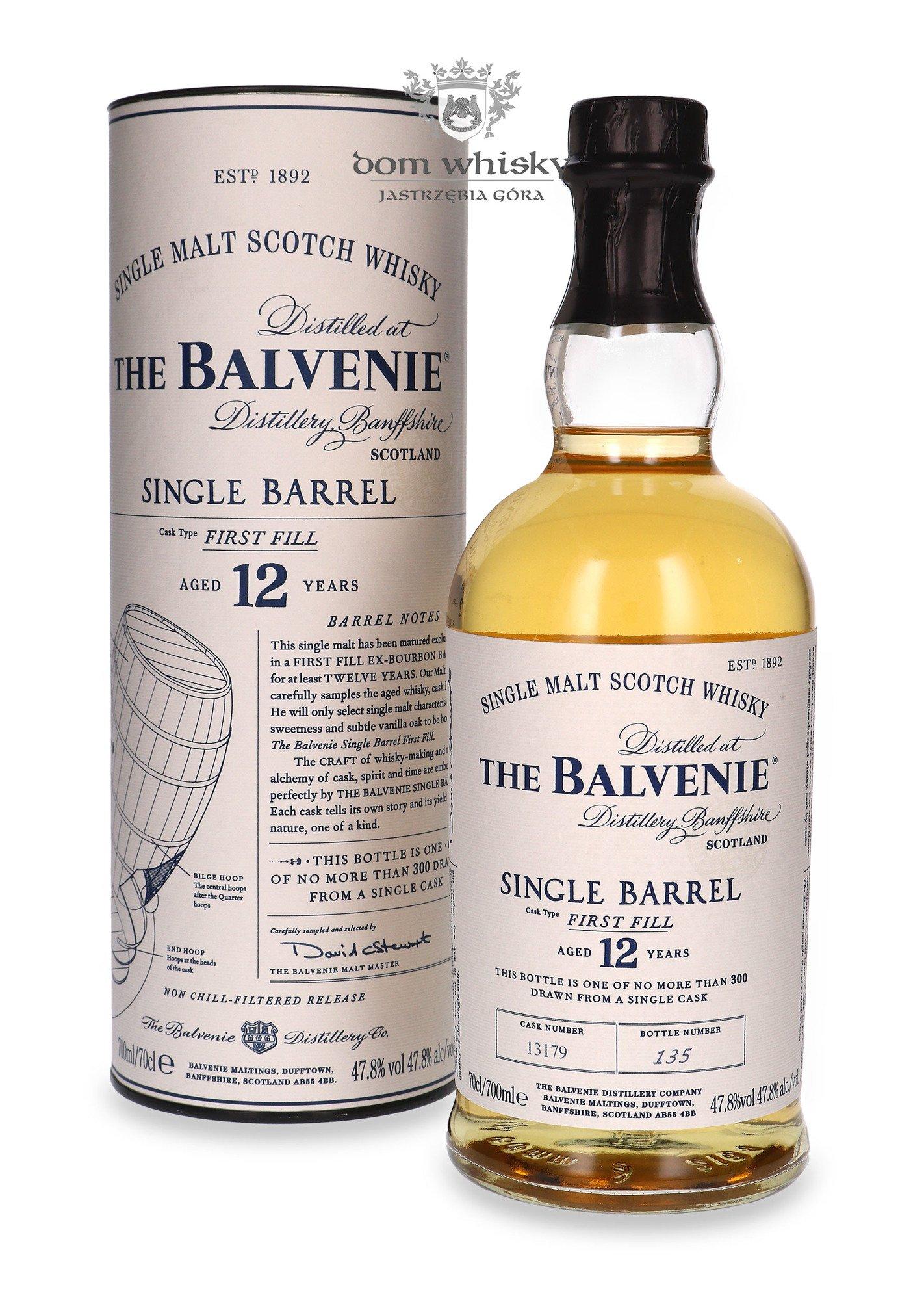 Balvenie single barrel first fill