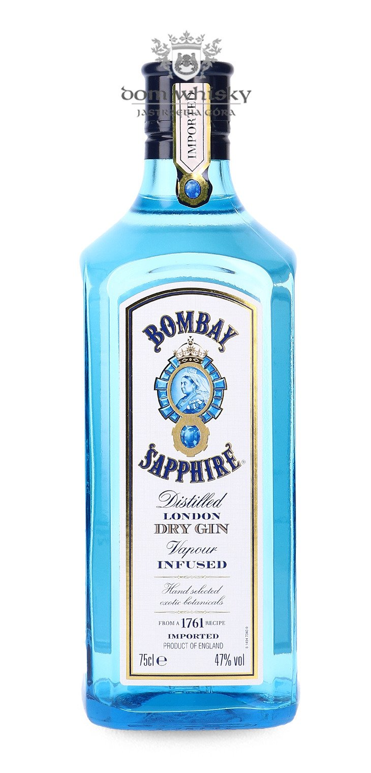 bombay sapphire london dry gin 47 0 75l dom whisky. Black Bedroom Furniture Sets. Home Design Ideas