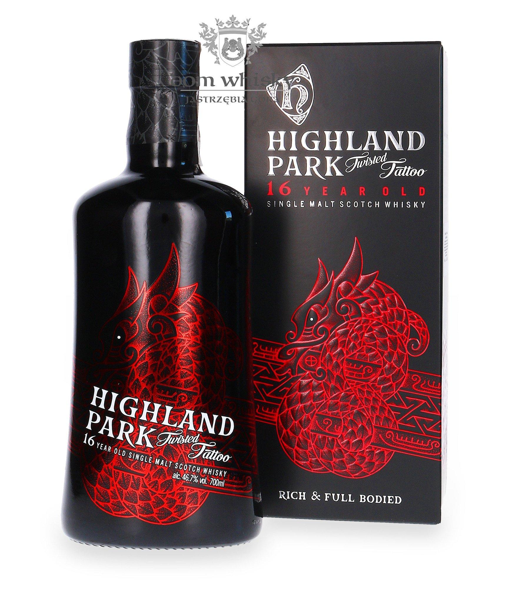 Highland Park 16 Letni Twisted Tattoo 467 07l
