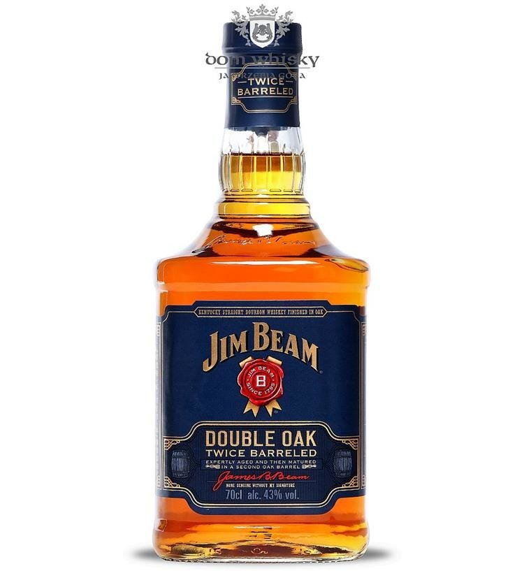 Jim Beam Double Oak Bez Opakowania 43 0 7l Dom Whisky