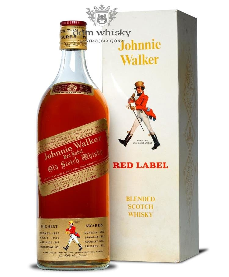 Johnnie Walker Red Label    L  Dom Whisky