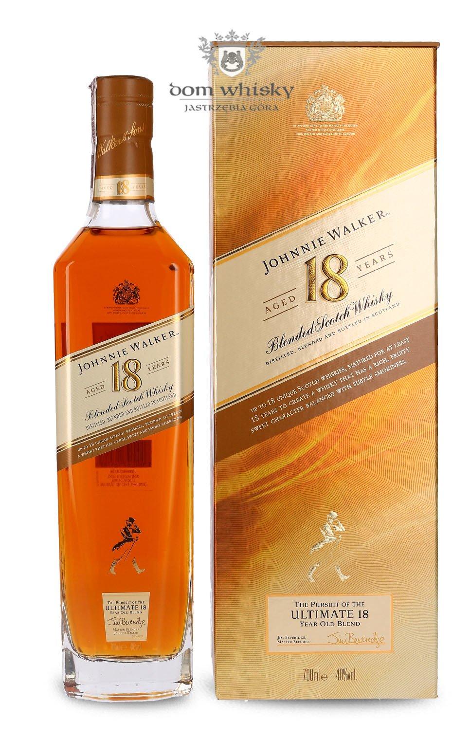 Johnnie Walker Ultimate 18 Letni 40 0 7l Dom Whisky