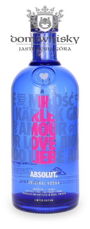 Absolut Love Limited Edition / 40% / 0,7l
