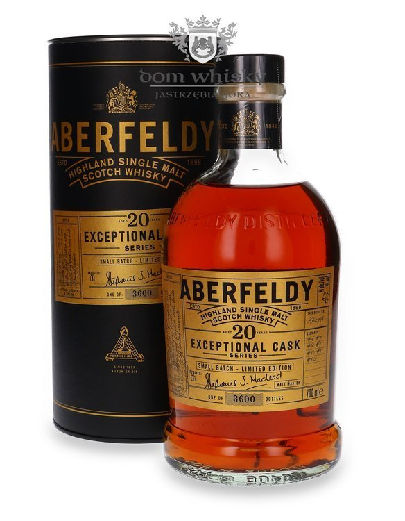 Aberfeldy 20-letni Small Batch The Exceptional Cask Series / 43%/ 0,7l