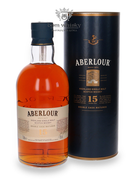 Aberlour 15-letni Double Cask Travel Retail / 40% / 1,0l