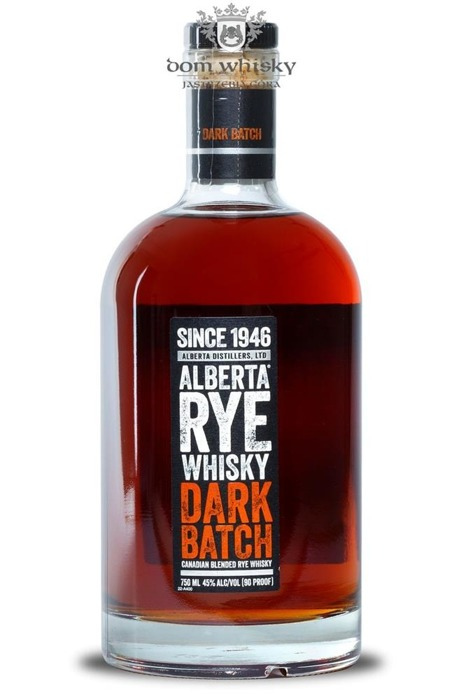 Alberta Rye Whiskey Dark Batch / 45%/ 0,75l