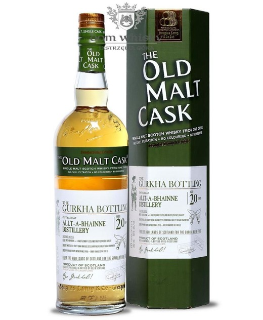 Allt-a-Bhainne 20-letni(Bottled 2011) Old Malt Cask/50%/0,7l