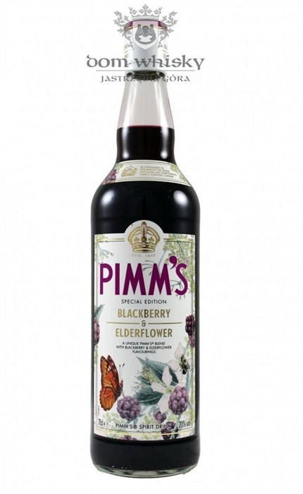 Aperitif Pimm's Blackberry & Elderflower / 20% / 0,7l