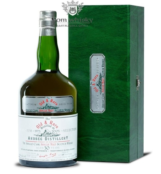 Ardbeg 1973, 30-letni, Old & Rare Platinum Select 48,9% 0,7l