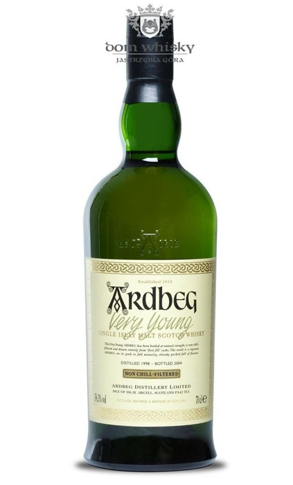 Ardbeg Very Young (2004 Release) / 58,3% / 0,7l