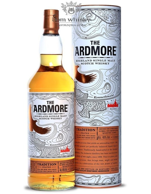 Ardmore Tradition Peated, Quarter Cask / 46% / 1,0l