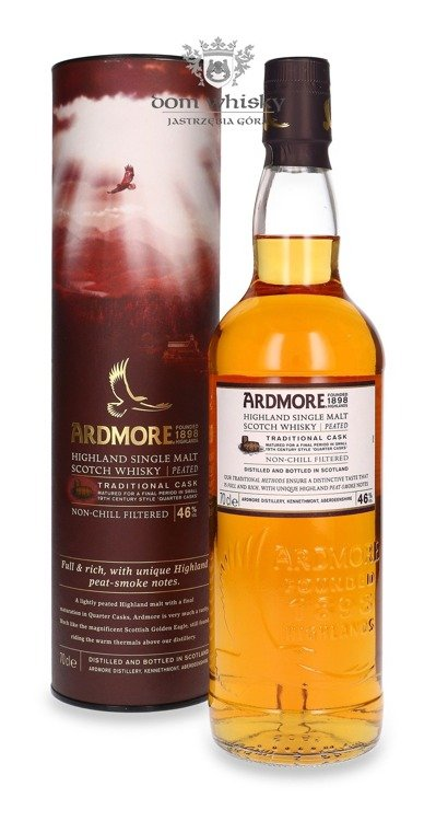 Ardmore Traditional Cask Finish / 46% / 0,7l