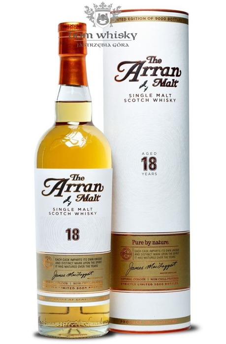 Arran 18-letni Pure by nature / 46% / 0,7l