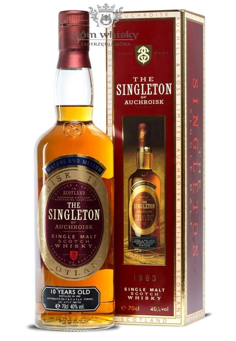 Auchroisk 1983 (The Singleton of) 10-letni / 40% / 0,7l
