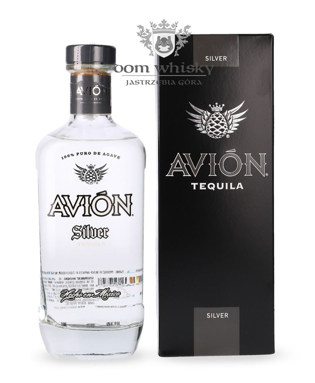 Avion Silver Tequila 100% Agave / 40% / 0,75l