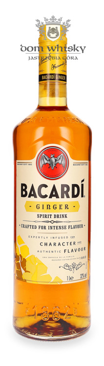 Bacardi Ginger Spirit Drink / 32% / 1,0l